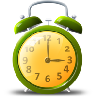 objects&Alarm clock png image.