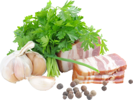 food&Bacon png image.