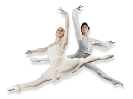 people&Ballet dancer png image.