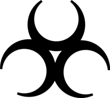 symbols & biohazard free transparent png image.