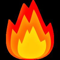 nature&Bonfire png image.