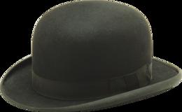 clothing&Bowler hat png image.