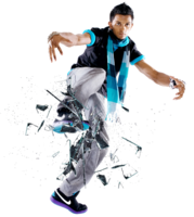 sport & break dance free transparent png image.
