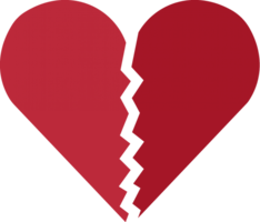 symbols & broken heart free transparent png image.