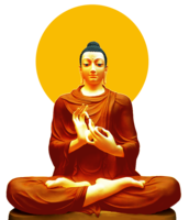 Gautama Buddha&fantasy png image