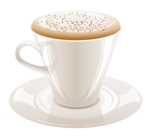 food&Cappuccino png image.