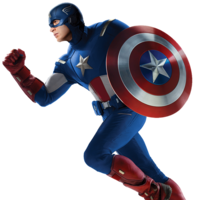 heroes&Captain America png image.