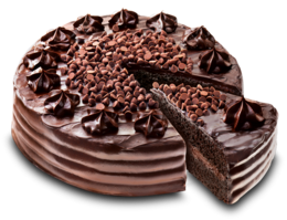 food&Chocolate cake png image.