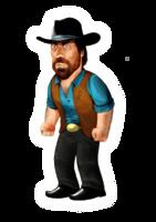 celebrities&Chuck Norris png image.