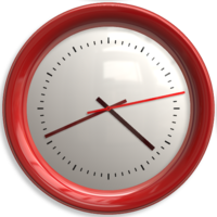 objects&Clock png image.