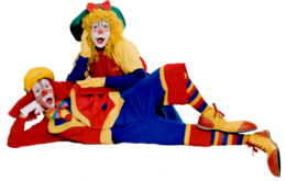 Clown&people png image