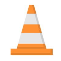 objects&Cones png image.