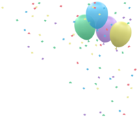 holidays&Confetti png image.