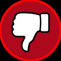symbols & dislike free transparent png image.
