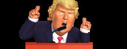 celebrities&Donald Trump png image.