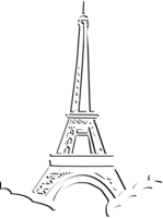 Eiffel Tower&architecture png image