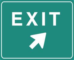 symbols & exit free transparent png image.