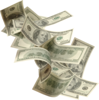 Falling money&objects png image