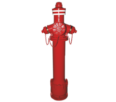 technic&Fire hydrant png image.