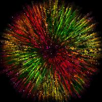 holidays&Fireworks png image.