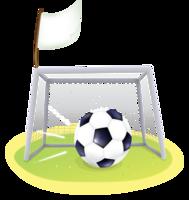 sport & football goal free transparent png image.