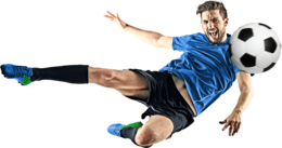 sport&Football player png image.