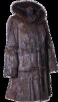 clothing&Fur coat png image.