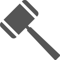 objects&Gavel png image.