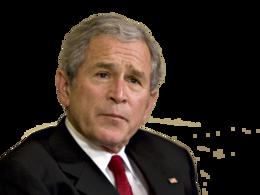 celebrities&George Bush png image.
