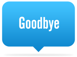 words phrases&Goodbye png image.