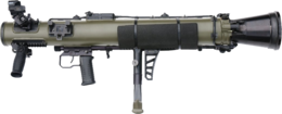 weapons&Grenade launcher png image.
