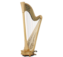 objects&Harp png image.