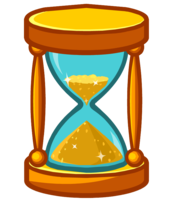 objects&Hourglass png image.