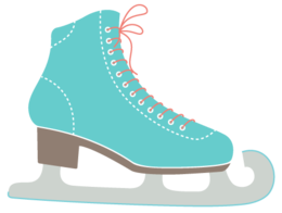 sport&Ice skates png image.