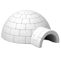 architecture&Igloo png image.
