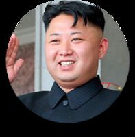 celebrities&Kim Jong un png image.