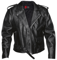 Leather jacket&clothing png image