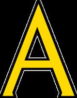alphabet&A png image.