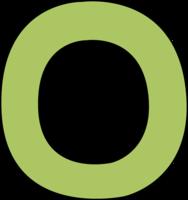 O&alphabet png image