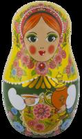 objects&Matryoshka doll png image.