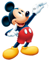 Mickey Mouse&heroes png image