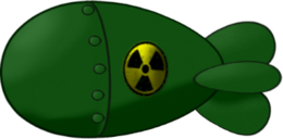 weapons&Nuclear bomb png image.