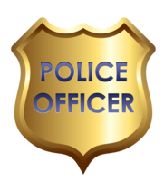 symbols & police badge free transparent png image.