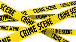 words phrases&Police tape png image.