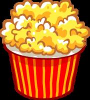 food&Popcorn png image.