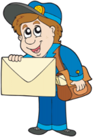 people&Postman png image.