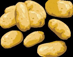 vegetables&Potato png image.