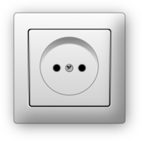 electronics&Power socket png image.