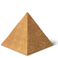 architecture&Pyramid png image.