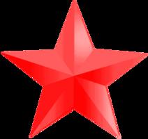 logos&Red star png image.